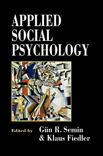 9780803979253: Applied Social Psychology