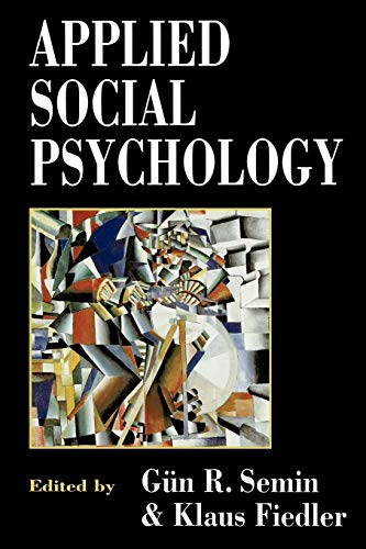 9780803979260: Applied Social Psychology