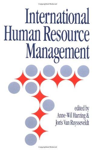 9780803979512: International Human Resource Management