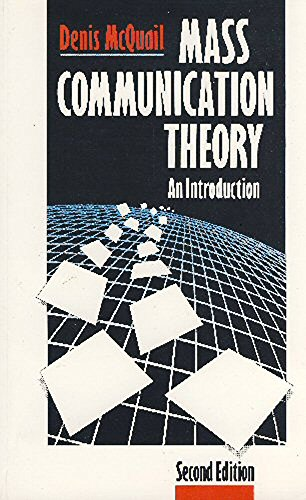 9780803980709: Mass Communication Theory: An Introduction