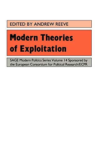 9780803980730: Modern Theories Of Exploitation