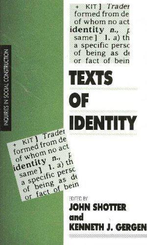 9780803981737: Texts of Identity