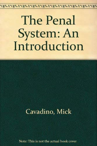 9780803983434: The Penal System: An Introduction
