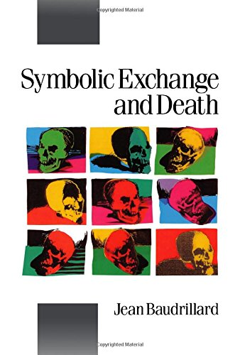 9780803983991: Symbolic Exchange and Death (Published in association with Theory, Culture & Society)
