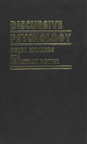 9780803984424: Discursive Psychology (Inquiries in Social Construction series)