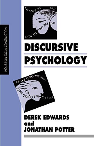 9780803984431: Discursive Psychology (Inquiries in Social Construction series)