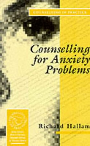 9780803984615: Counselling for Anxiety Problems (Therapy in Practice)