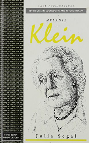 9780803984769: Melanie Klein (Key Figures in Counselling and Psychotherapy series)