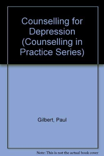 9780803984974: Counselling for Depression (Counselling in Practice Series)