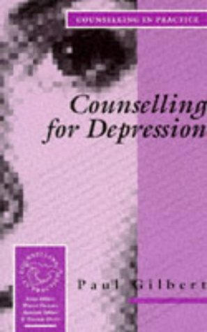 9780803984981: Counselling for Depression (Counselling in Practice Series)