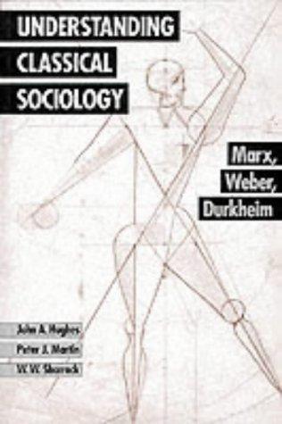 9780803986367: Understanding Classical Sociology: Marx, Weber, Durkheim