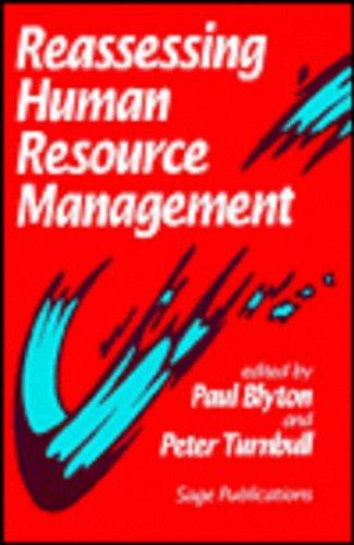 9780803986978: Reassessing Human Resource Management