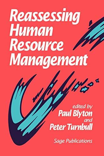 9780803986985: Reassessing Human Resource Management