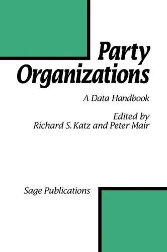 9780803987838: Party Organizations: A Data Handbook on Party Organizations in Western Democracies, 1960-90