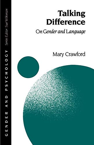 9780803988286: Talking Difference: On Gender and Language