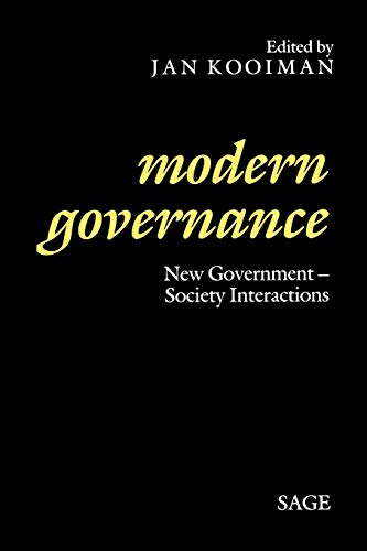 9780803988910: Modern Governance: New Government-Society Interactions