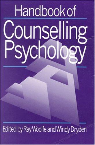 9780803989924: Handbook of Counselling Psychology