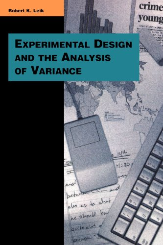 9780803990067: Experimental Design and the Analysis of Variance