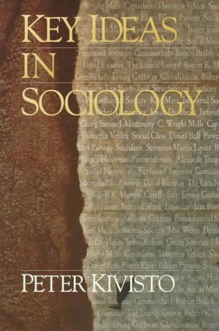 9780803990883: Key Ideas in Sociology (Sociology for a New Century Series)