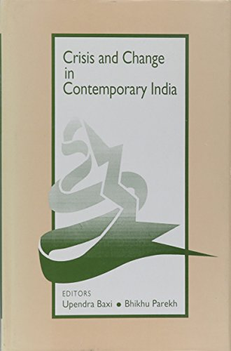 9780803991828: Crisis and Change in Contemporary India