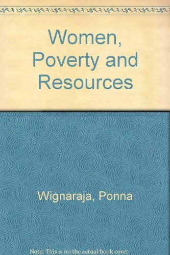 9780803996243: Women, Poverty and Resources
