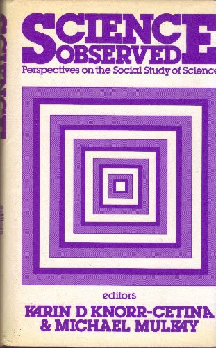 9780803997820: Science Observed: Perspectives on the Social Study of Science