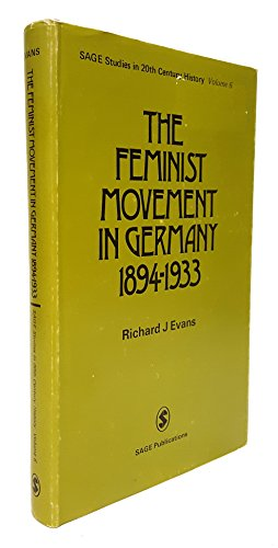 9780803999510: Feminist Movement in Germany H (SSTCH)