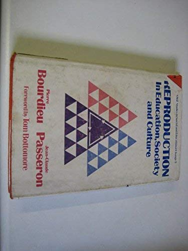 9780803999947: Reproduction: In Education, Society and Culture (SSSEC)