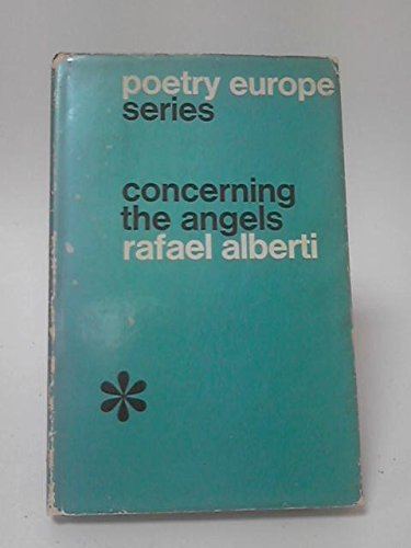 9780804000550: Concerning the Angels (Poetry in Europe Series : No. 2)