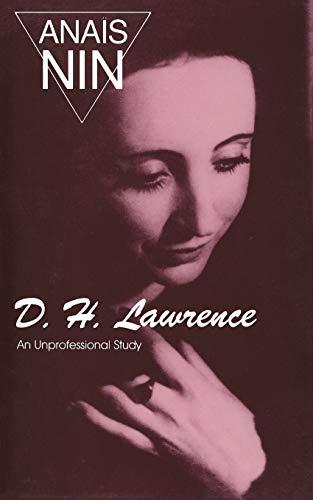 9780804000673: D.H. Lawrence: An Unprofessional Study