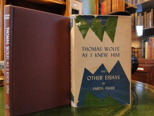 9780804002905: Thomas Wolfe as I Knew Him and Other Essays