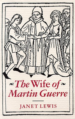9780804003216: The Wife of Martin Guerre