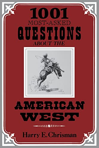 9780804003834: 1001 Most Asked Questions American West