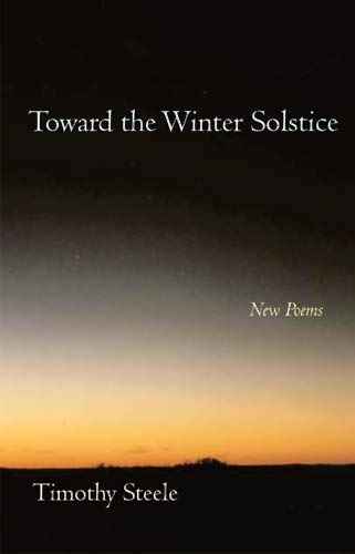 9780804010900: Toward the Winter Solstice: New Poems