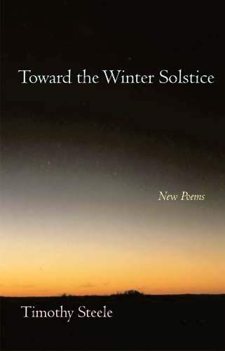 9780804010917: Toward the Winter Solstice: New Poems