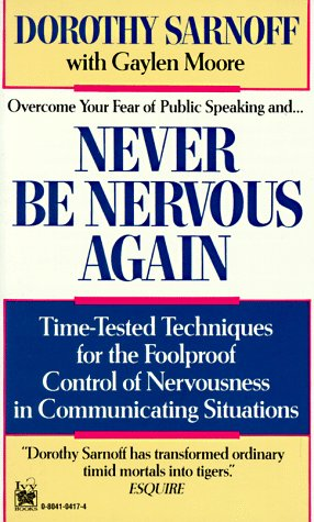 9780804104173: Never Be Nervous Again