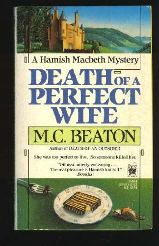9780804105934: Death of a Perfect Wife (Hamish Macbeth Mysteries, No. 4)
