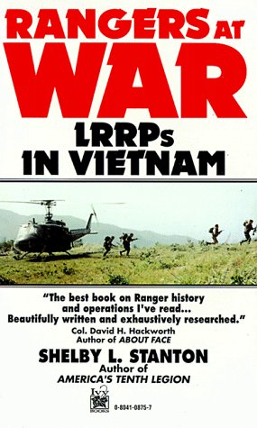 Rangers at War:  LRRPs in Vietnam (0804108757) by Stanton, Shelby L.