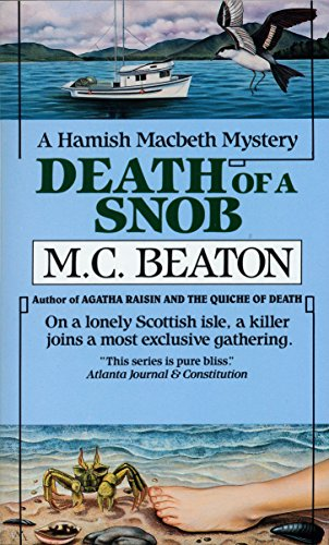 9780804109123: Death of a Snob (Hamish Macbeth Mysteries, No. 6)