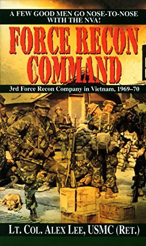 9780804110235: Force Recon Command: 3rd Force Recon Company in Vietnam, 1969-70