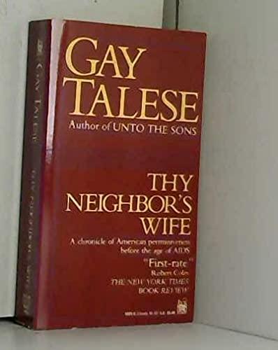 9780804110594: Thy Neighbor's Wife
