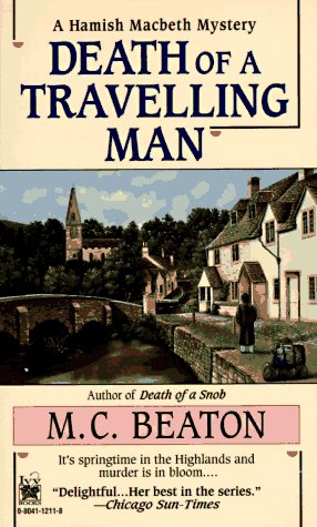 9780804112116: Death of a Travelling Man (Hamish Macbeth Mysteries, No. 9)