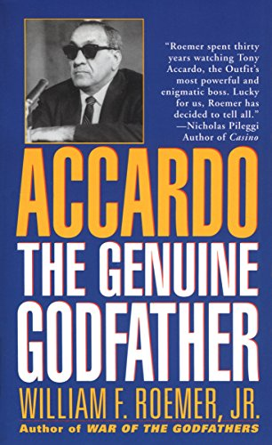 9780804114646: Accardo: The Genuine Godfather