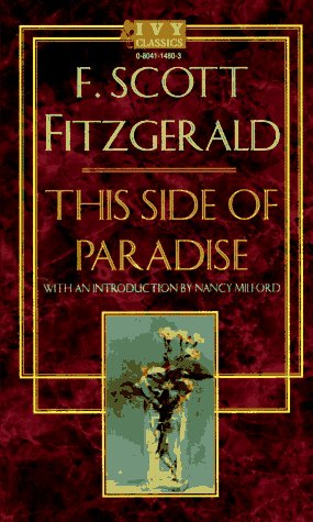 an analysis of the novel this side of paradise by f scott fitzgerald This side of paradise was published when f scott fitzgerald was 23 years old, on march 26, 1920 he was the youngest author ever published at scribner at that time.