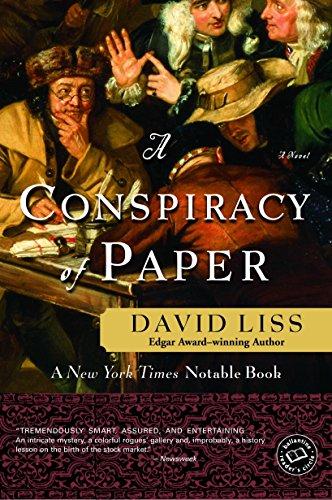 9780804119122: A Conspiracy of Paper: A Novel (Ballantine Reader's Circle)