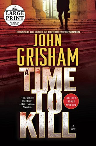 A Time to Kill (Random House Large Print)