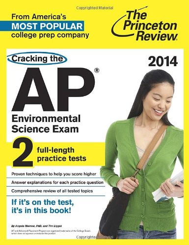 9780804124188: Cracking the AP Environmental Science Exam, 2014