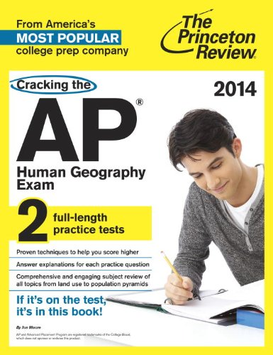 9780804124201: Cracking the AP Human Geography Exam, 2014 Edition (College Test Preparation)