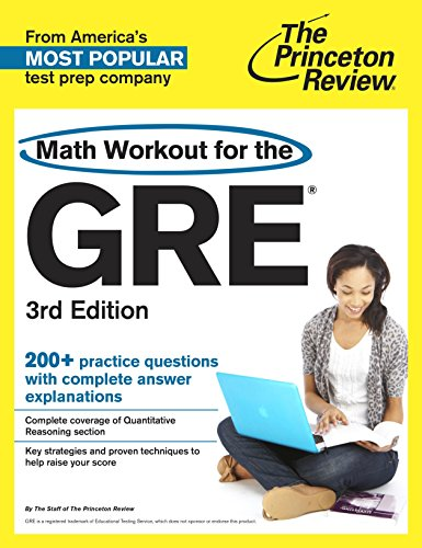 9780804124621: Math Workout for the GRE, 3rd Edition (Graduate School Test Preparation)