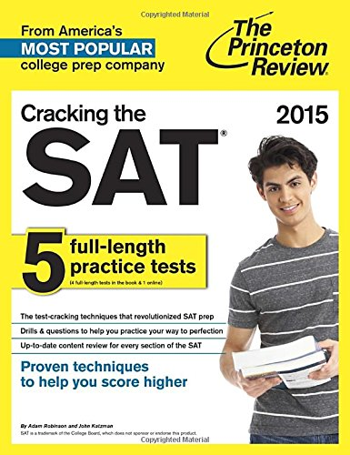 9780804124652: Cracking Sat 2015 (Princeton Review)